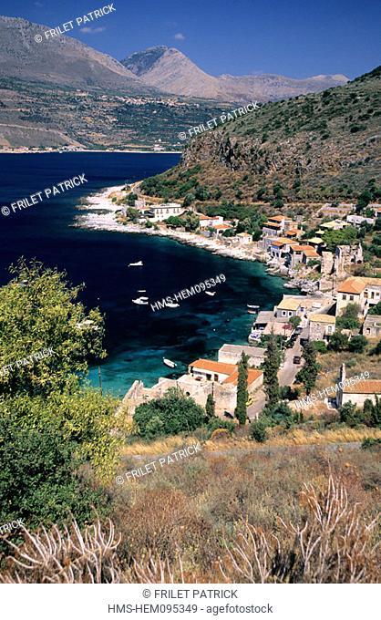 Greece, Peloponese, the Magne, Limeni