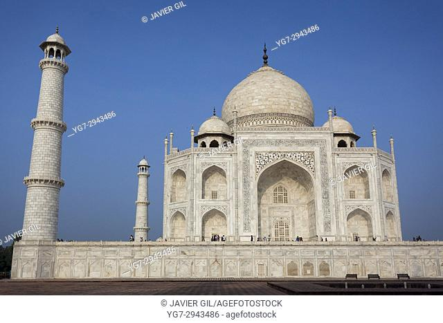Taj Mahal, UNESCO World Heritage Site, Agra, Uttar Pradesh, India