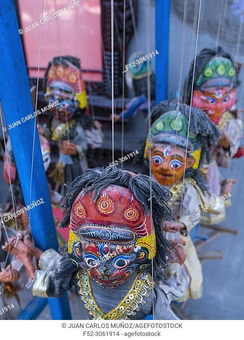 Handicrafts, Durbar Square, Kathmandu City, Kathmandu Valley, Nepal, Asia
