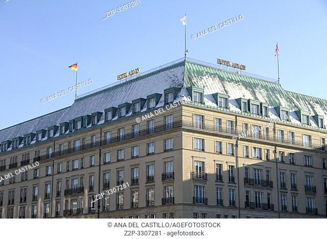 Adlon hotel,Unter den linden boulevar, Berlin Germany