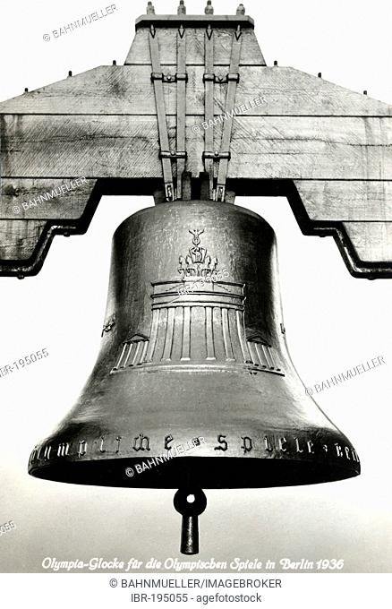 Olympia bell Berlin Germany 1936