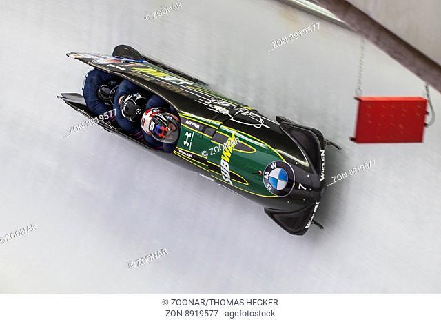 Steven Holcomb BMW IBSF World Cup Koenigssee 2016