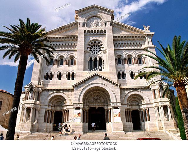 Cathedral. Montecarlo, Monaco