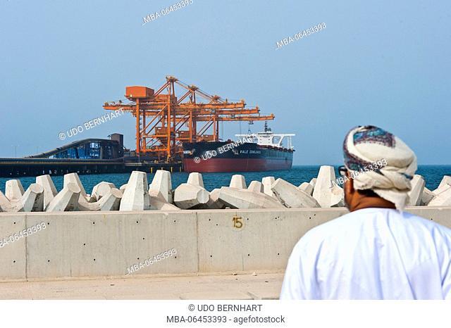 Arabia, Arabian peninsula, Sultanate of Oman, Sohar, Sohar port