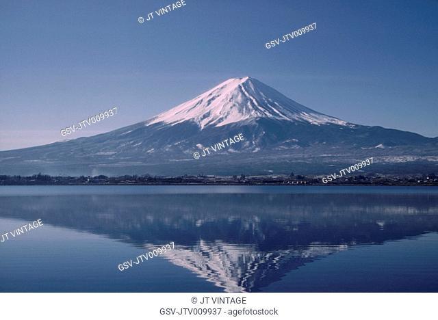Mount Fuji, Japan, 1970