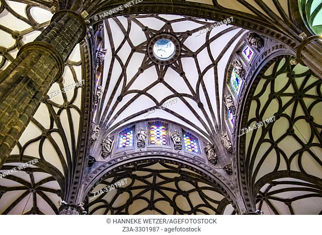 Ceiling of the Cathedral of Santa Ana, Canary Islands