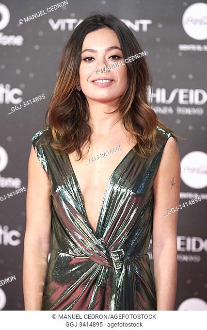 Anna Castillo attends Los 40 Music Awards at Wizink Center on November 8, 2019 in Madrid, Spain