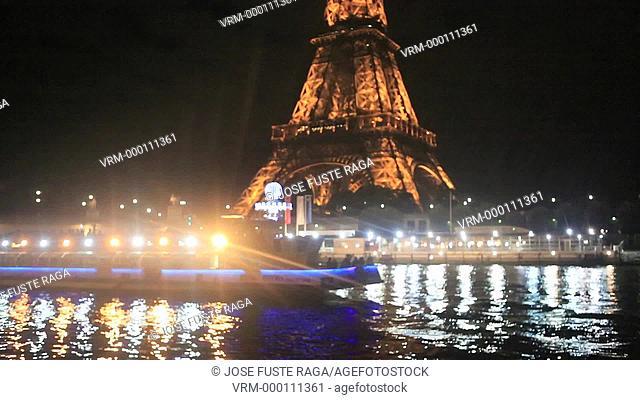 France , Paris City, Eiffel Tower