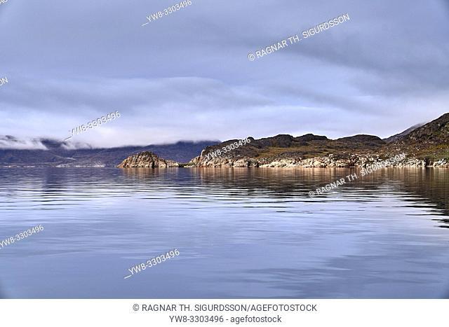 Landscape, Einarsfjordur, Greenland