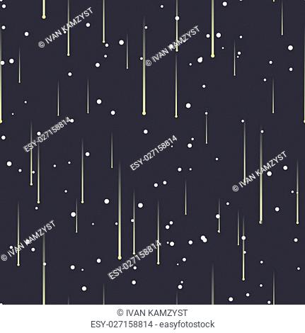 Vector seamless pattern. Parallel diagonal overlapping point ines background