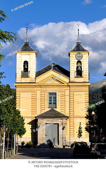 Church of Nuestra Señora de los Dolores (Our Lady of Sorrows) in Real Sitio de San Ildefonso, Segovia