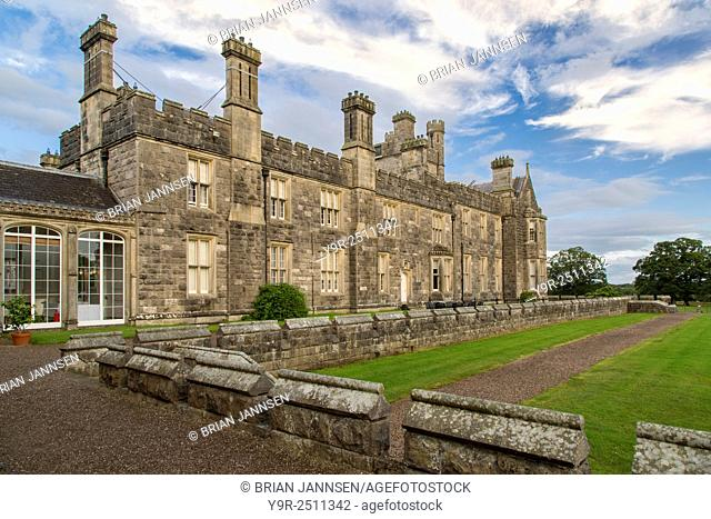 Crom Castle - Ancestral home to Lord Erne and the Crichton family, County Fermanagh, Northern Ireland, UK