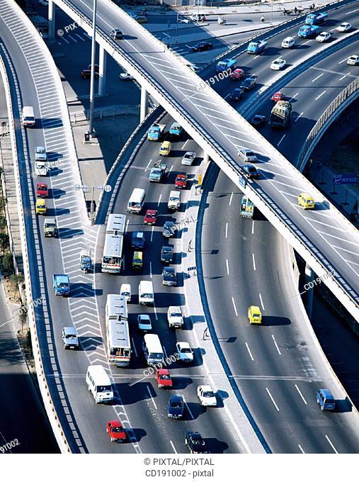 Overpass. Beijing. China