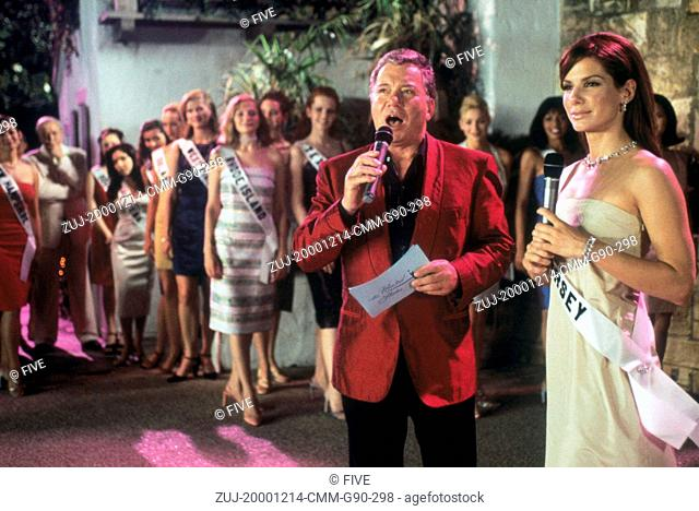 Dec 14, 2000; Hollywood, CA, USA; WILLIAM SHATNER as Stan Fields and SANDRA BULLOCK as Gracie Hart in the comedy thriller 'Miss Congeniality' directed by Donald...