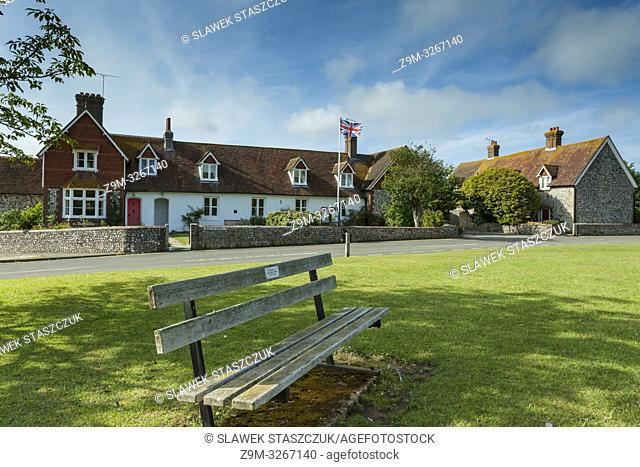 Spring afternoon in Horsted Keynes village, West Sussex, England