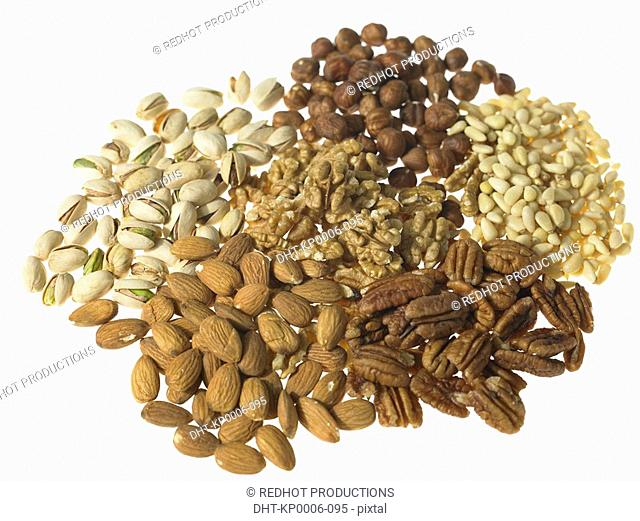 Various Mixed Nuts