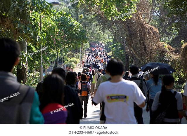 Charity walk event, Hong Kong