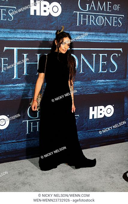 'Game of Thrones' Season 6 premiere screening held at TCL Chinese Theater IMAX Featuring: Lisa Bonet Where: Los Angeles, California