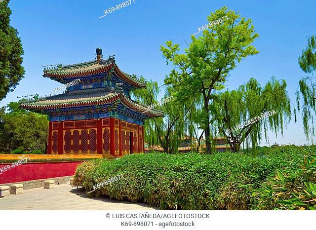 Pavilion of Extreme Happiness, Beihai Park, Beijing, People's Republic of China