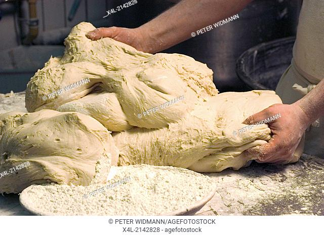 bakery dough kneading