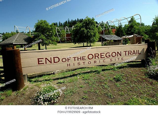 Oregon City, OR, Oregon, End of the Oregon Trail Interpretive Center