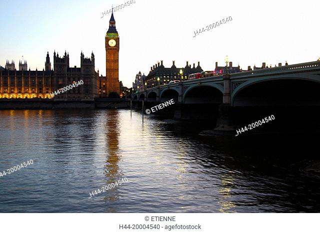 Parliament and Big Ben in London