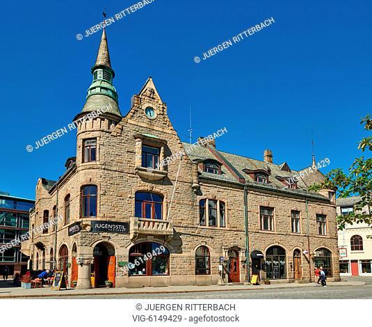 NORWAY, ÅLESUND, 30.06.2018, The Art Nouveau Centre or Jugendstil Senteret, Ålesund, Norway, Europe - Ålesund, Møre og Romsdal, Norway, 30/06/2018