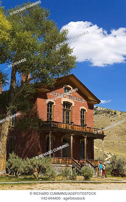 Hotel Meade, Bannack State Park Ghost Town, Dillon, Montana, USA