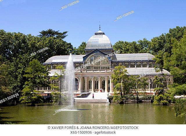 Crystal Palace, Parque del Buen Retiro, Madrid, Spain