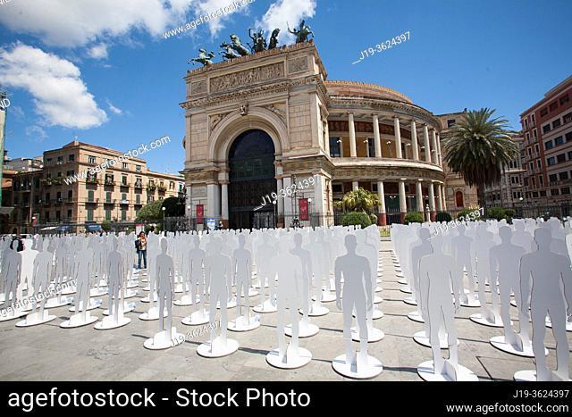 1MAY Teatro Politeama Garibaldi Palermo, Sicilien, Italien