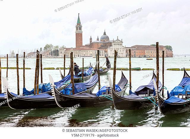 Church of San Giorgio Maggiore, Venice, Veneto, Italy, Europe