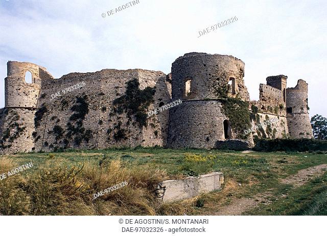Aragonese Castle, 15th century, Ortona, Abruzzo, Italy