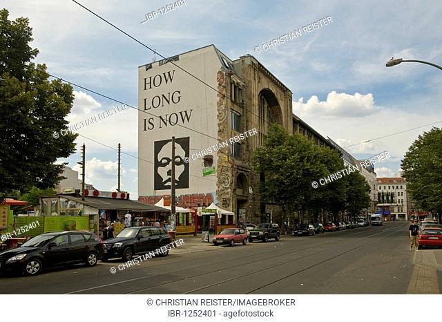 Kunsthaus Tacheles, art house, Oranienburger Strasse, Mitte, Berlin, Germany, Europe