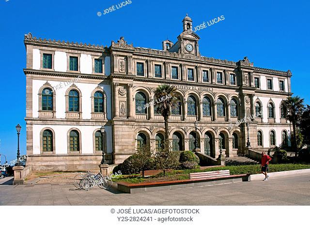 """School called """"""""Instituto da Guarda"""""""", La Coruña, Region of Galicia, Spain, Europe"""