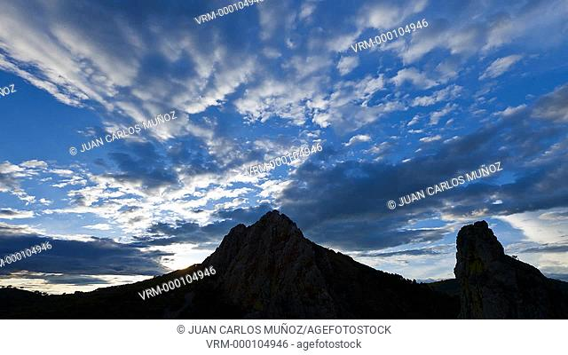 Salto del Gitano, Monfrague National Park, Caceres, Extremadura, Spain, Europe