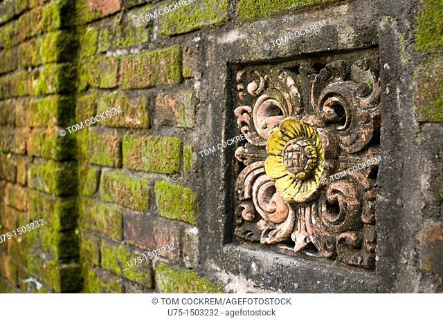 Temple wall art, Jalan Sumatra denpasar bali indonesia