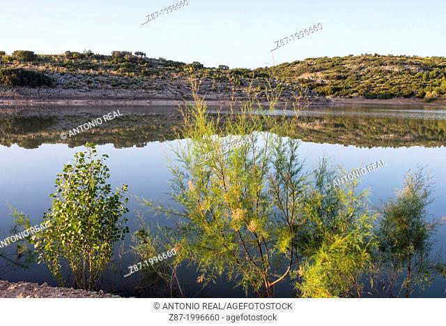 Reservoir of Almansa, Albacete province, Castilla-La Mancha, Spain