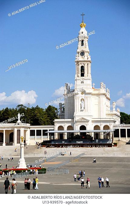 Our Lady of Fatima basilica, Fatima, Santarem, Portugal