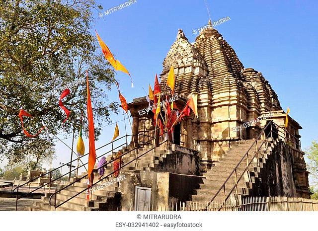 Matangeshvara Temple, dedicated to Lord Shiva, Western Temples of Khajuraho, Madhya Pradesh, India - UNESCO world heritage site