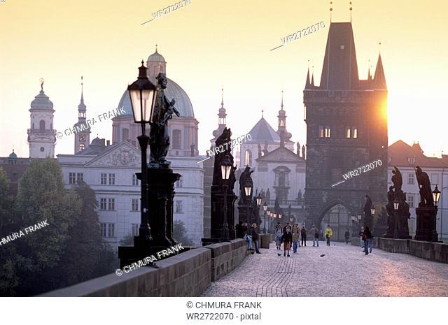 90900067, Czech Republic, Prague, The Charles Brid