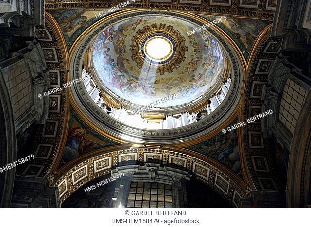 Italy, Lazio, Rome, Vatican, Saint Peter Basilica
