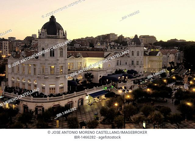 Gran Casino del Sardinero, Plaza Italia, Santander, Cantabria, Spain, Europe