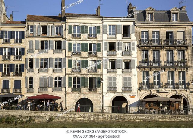 Galuperie Street, Bayonne, Basque Country, France