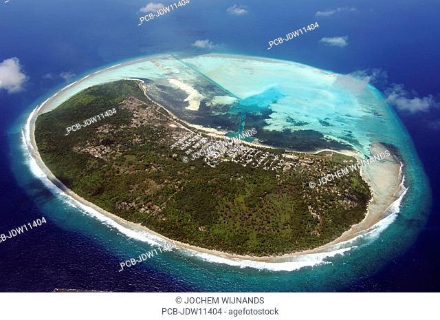 Maldives, atol where locals live