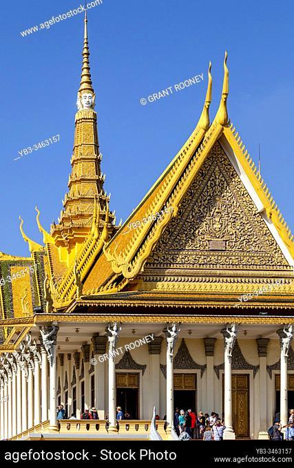 The Throne Hall At The Royal Palace, Phnom Penh, Cambodia