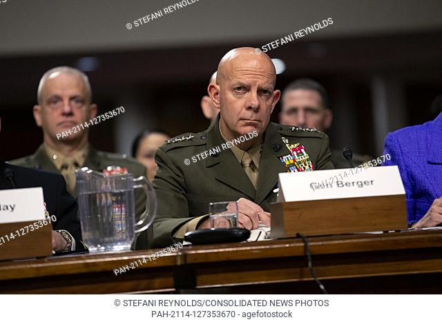 Commandant of the Marine Corps General David Berger, on a panel with Director of Defense Capabilities and Management at the Government Accountability Office...