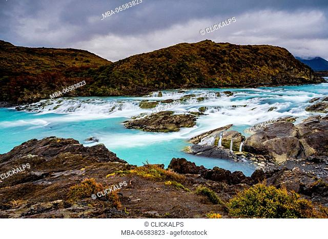 Torres del Paine National Park, Patagonia, Chile, South America, Paine river