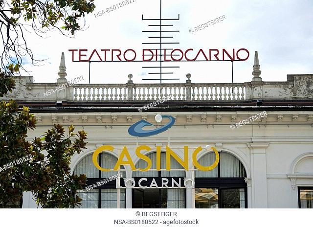 Casino in Locarno, Tessin, Switzerland