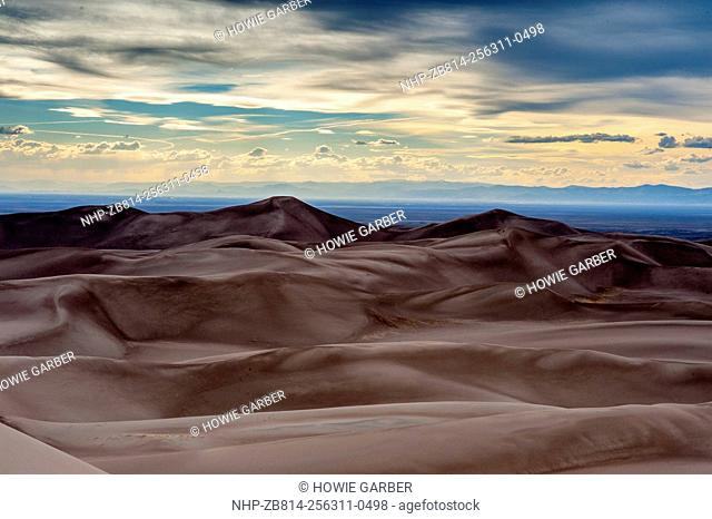 Great Sand Dunes National Park and Sangre Cristo Mountains, Colorado