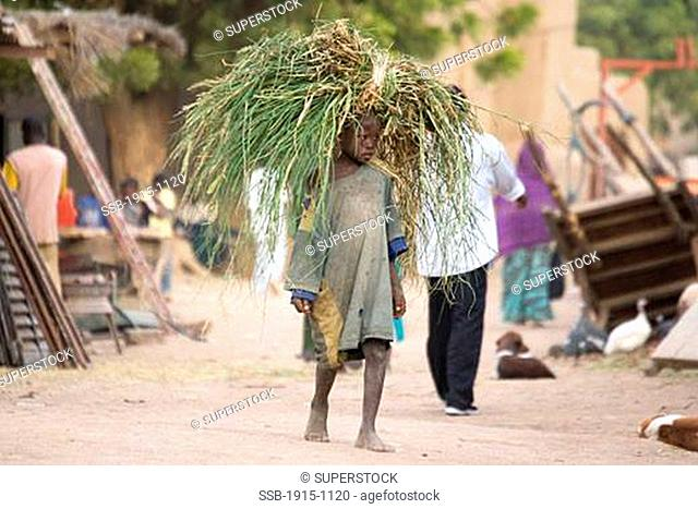 Child in Djenne Djenne Mali
